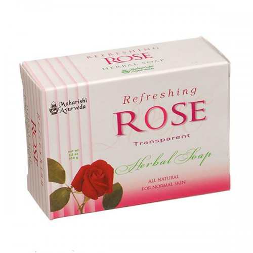 Rose Herbal Soap - 100 gm