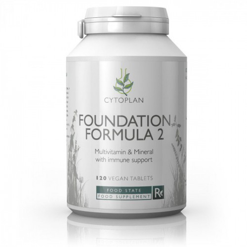 Cytoplan Foundation Formula 2-120tabs
