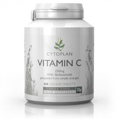 Cytoplan Vitamin C, 60 foodstate tablets